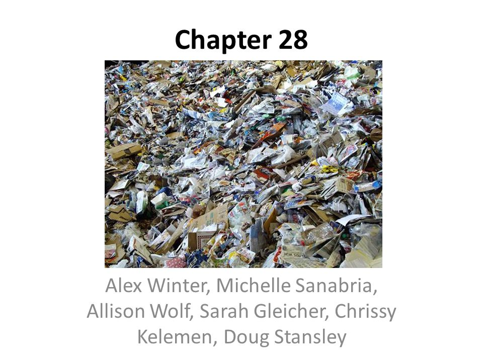 Chapter 28 Alex Winter, Michelle Sanabria, Allison Wolf, Sarah Gleicher, Chrissy Kelemen, Doug Stansley.