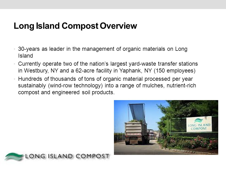 Long Island Compost Overview