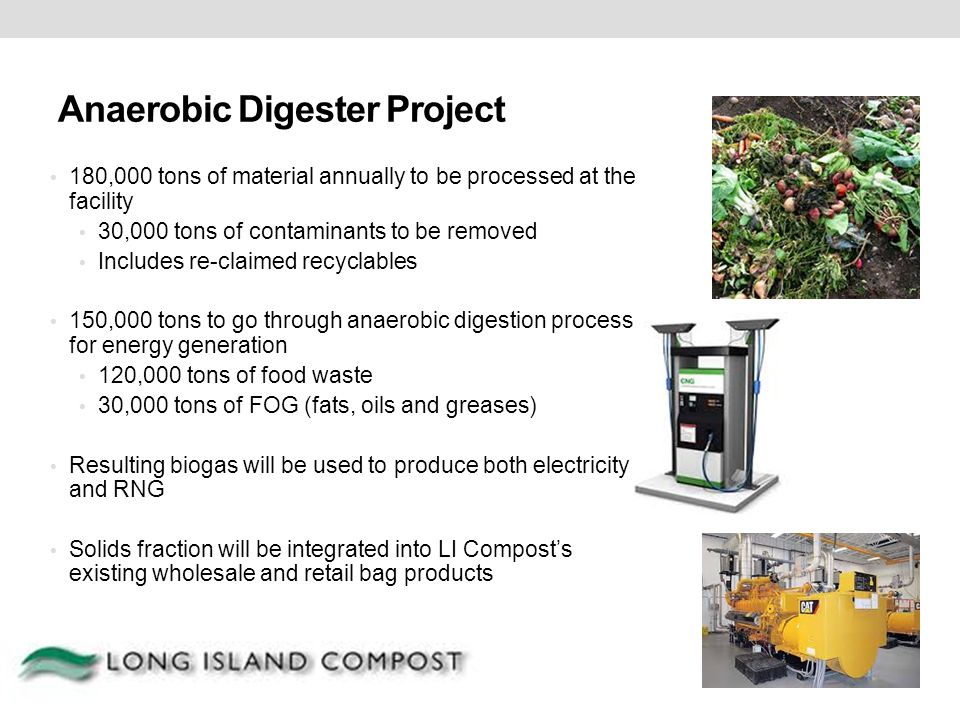 Anaerobic Digester Project