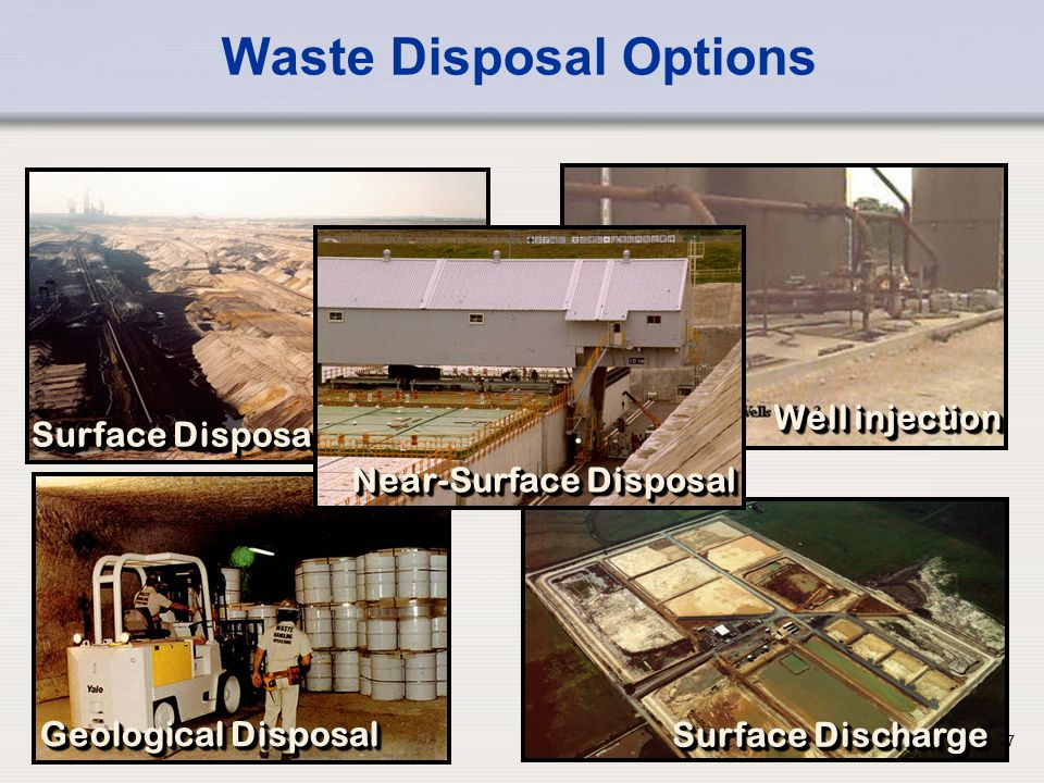 Waste Disposal Options