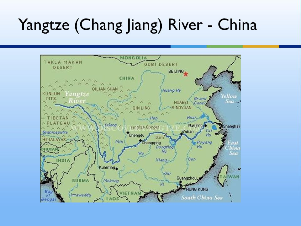 Yangtze (Chang Jiang) River - China