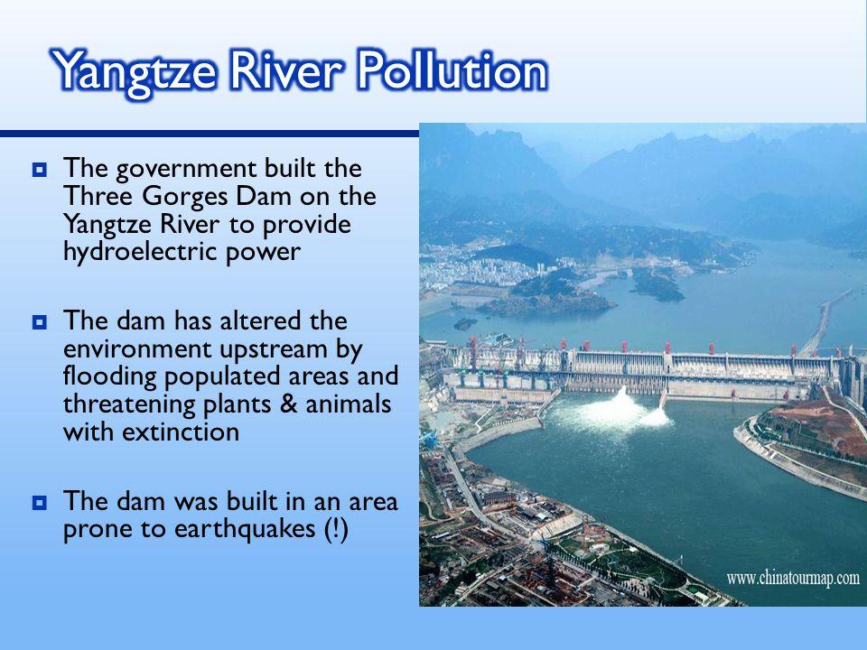 Yangtze River Pollution
