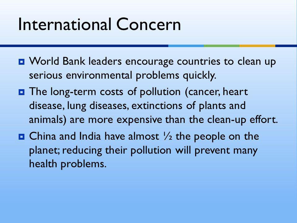 International Concern