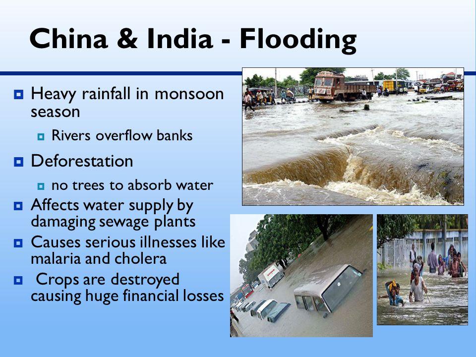 China & India - Flooding