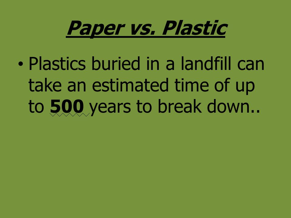 Paper vs.