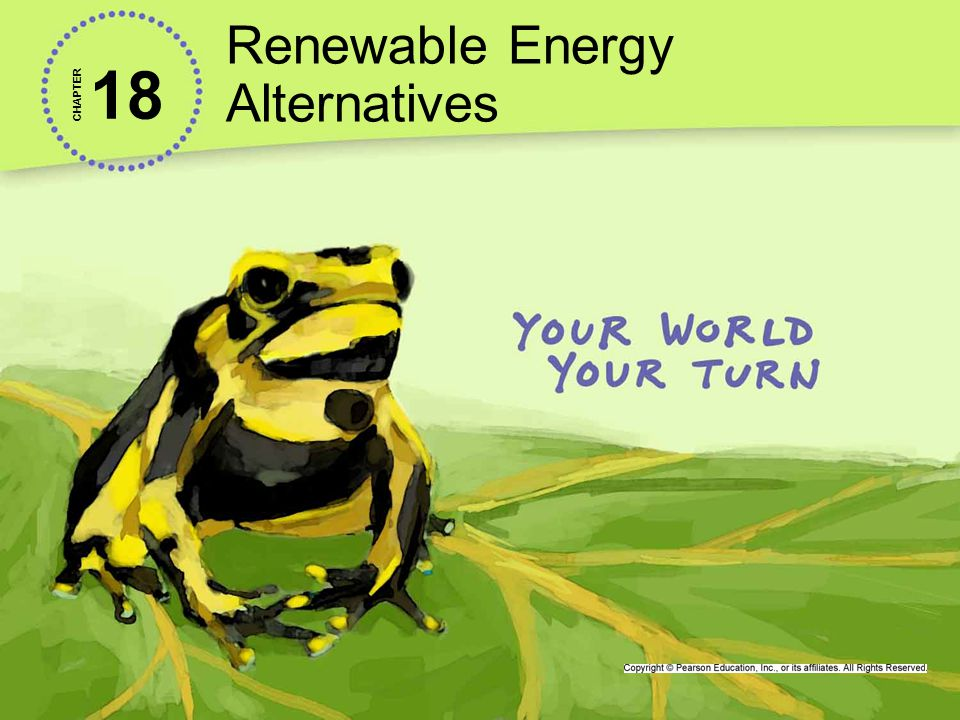 Renewable Energy Alternatives