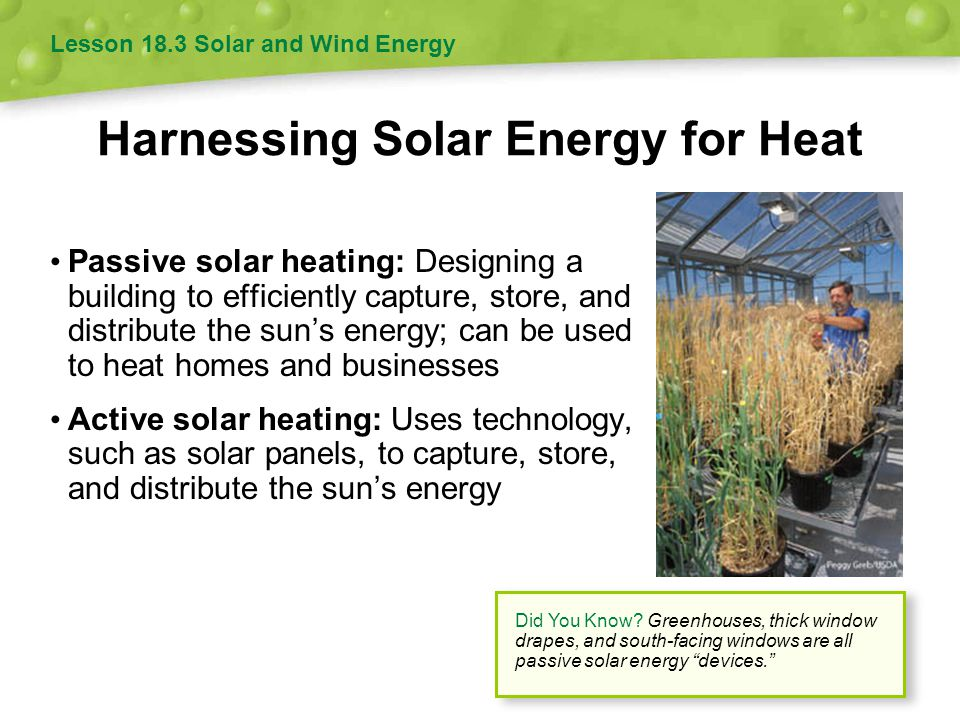Harnessing Solar Energy for Heat