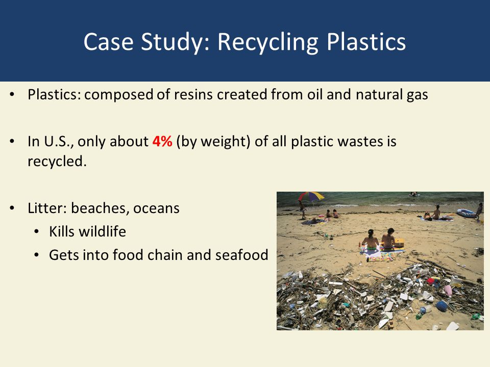Case Study: Recycling Plastics