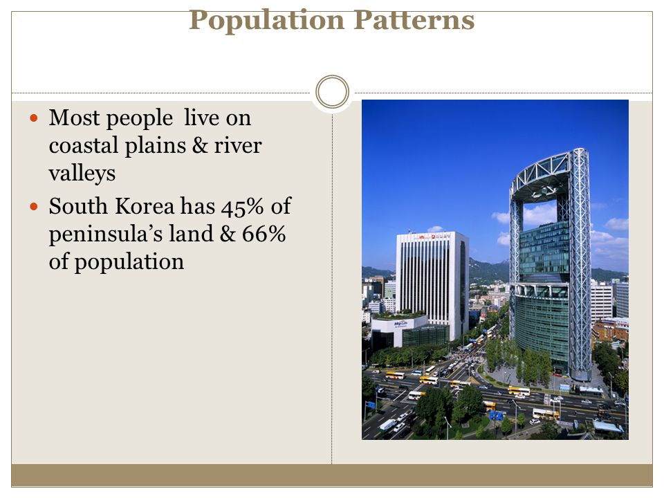 Population Patterns Most people live on coastal plains & river valleys