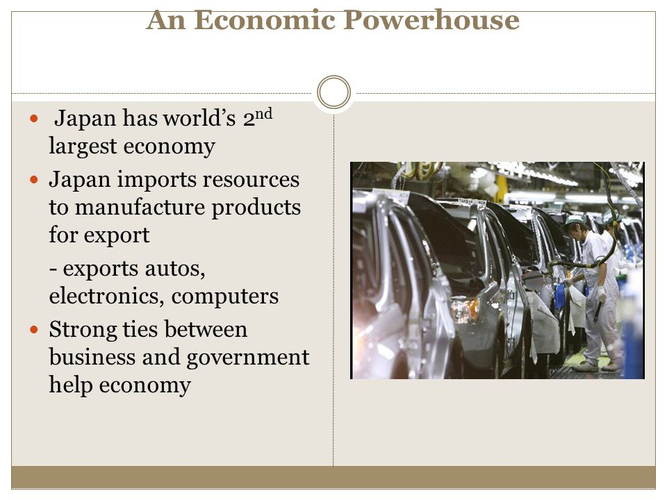 An Economic Powerhouse