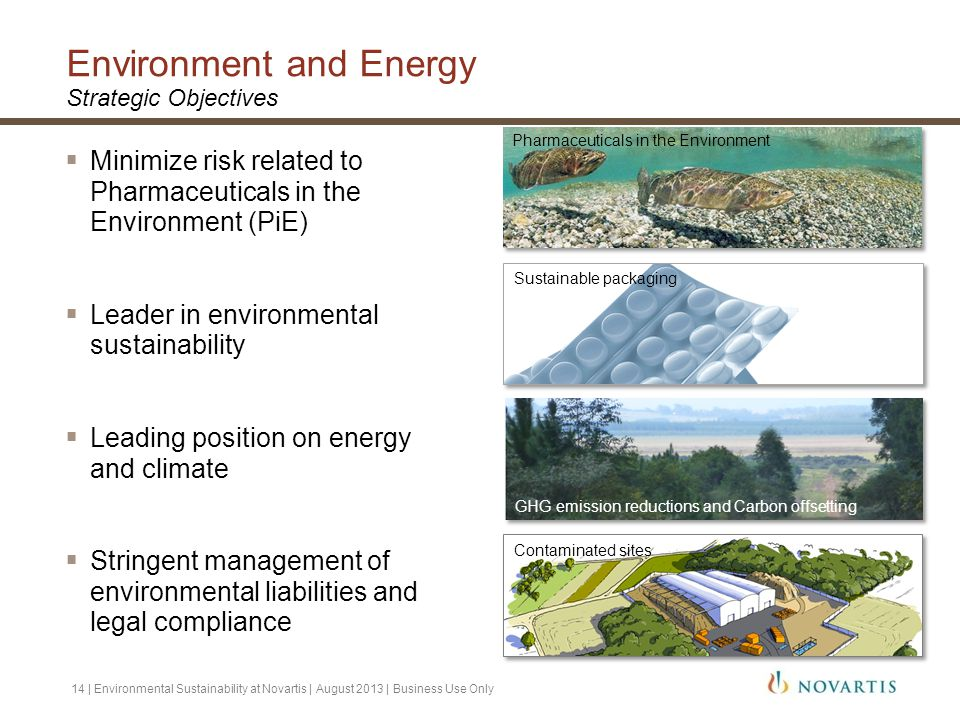 Environment and Energy Strategic Objectives