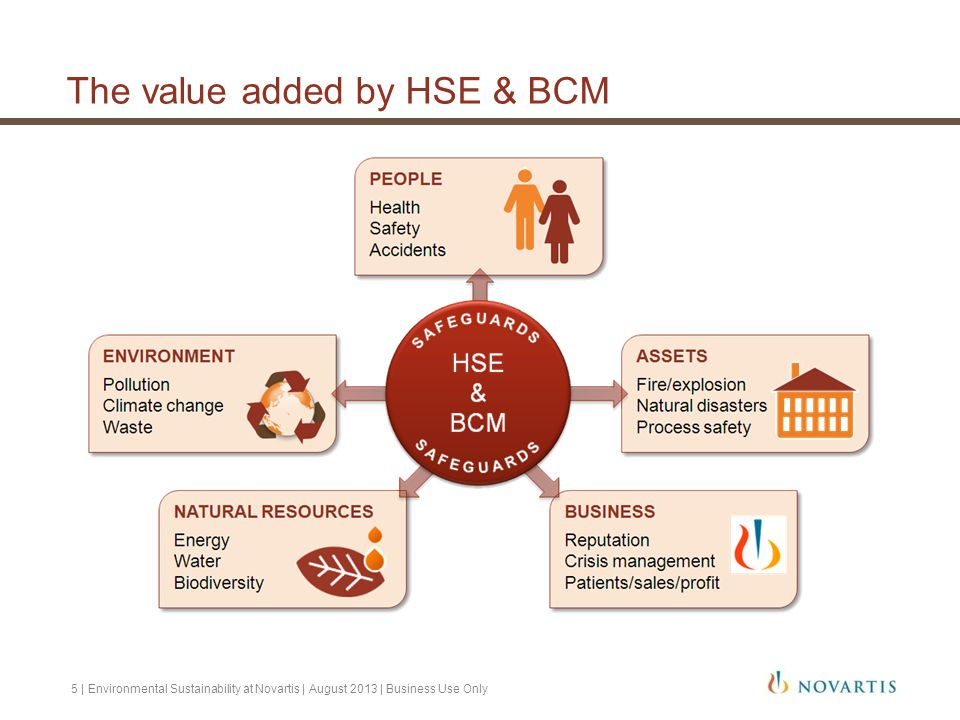 The value added by HSE & BCM