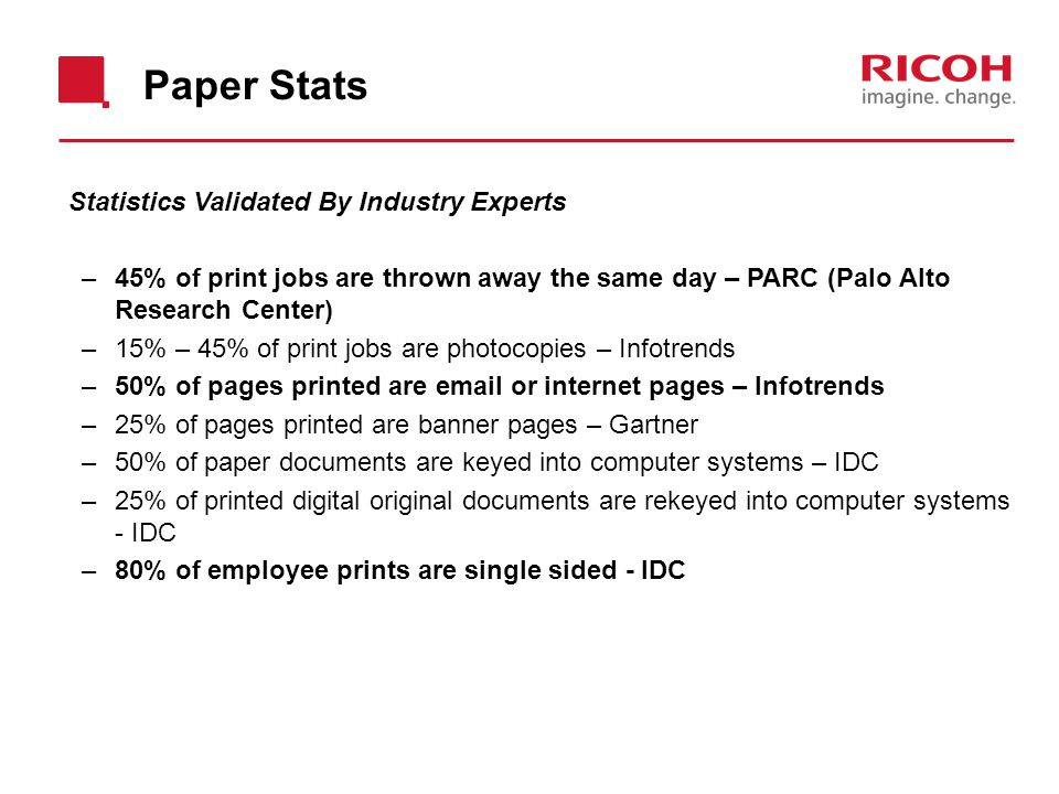 Paper Stats Statistics Validated By Industry Experts
