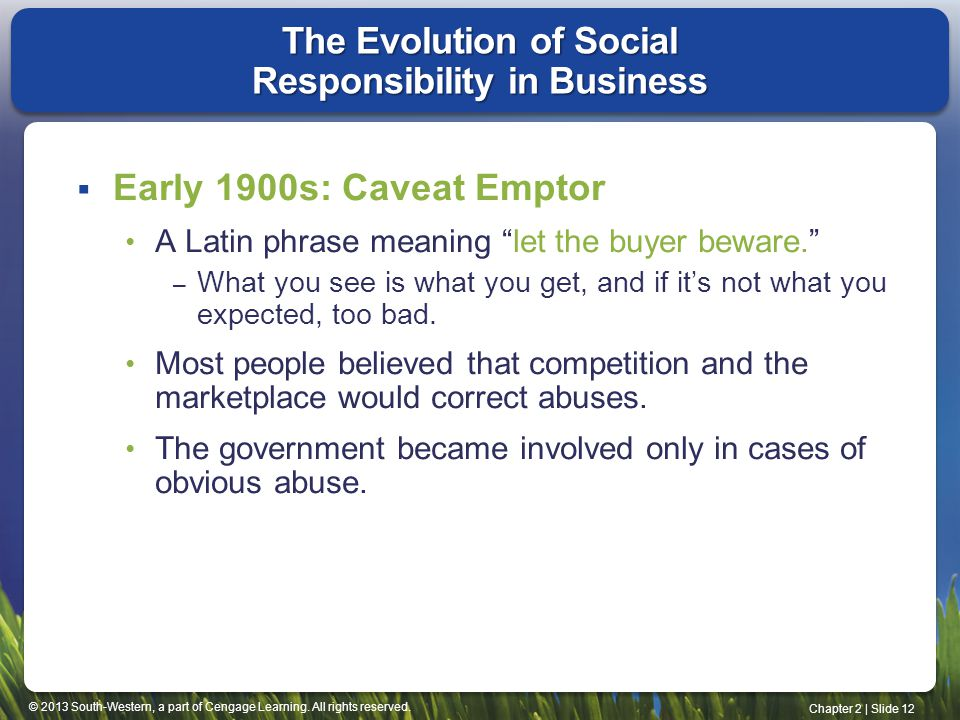 The Evolution of Social Responsibility in Business