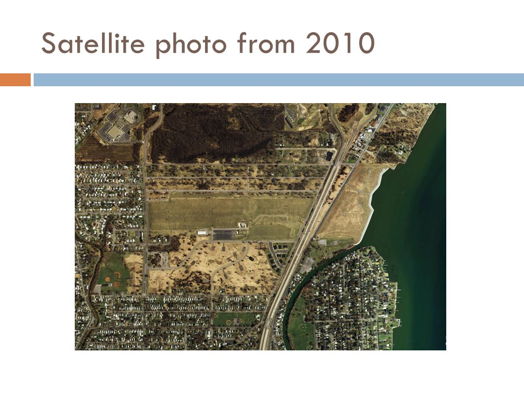 Satellite photo from 2010