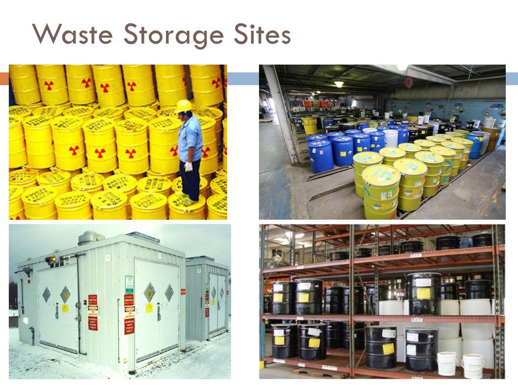 Waste Storage Sites