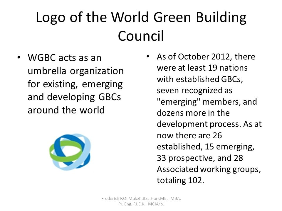 Logo of the World Green Building Council