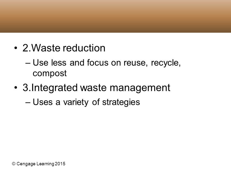 3.Integrated waste management