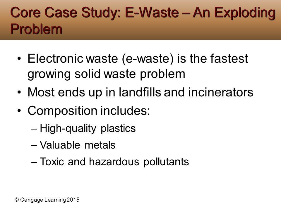Core Case Study: E-Waste – An Exploding Problem
