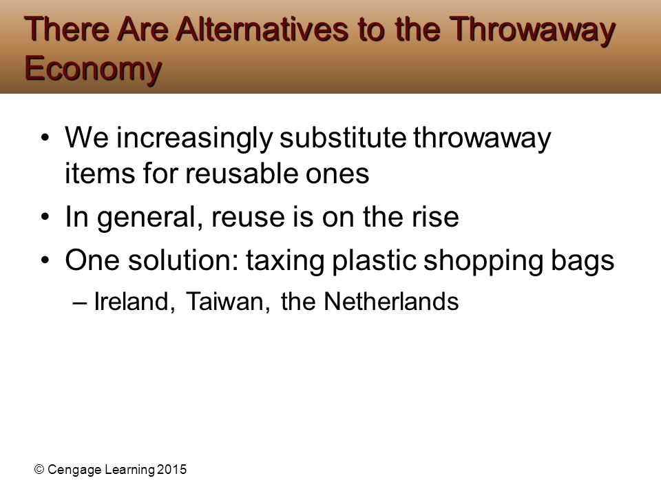 There Are Alternatives to the Throwaway Economy