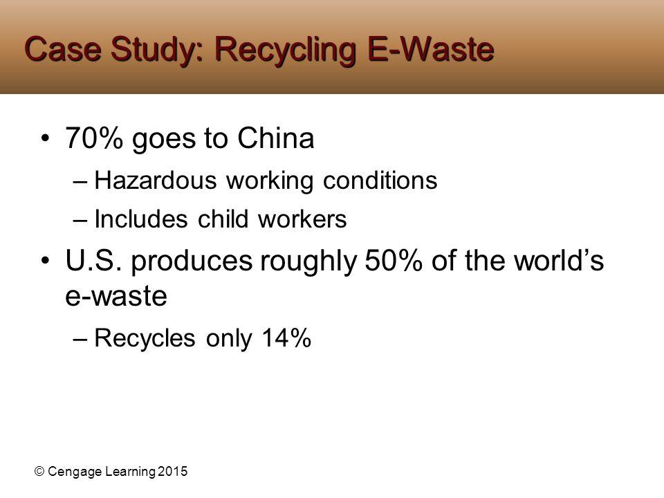 Case Study: Recycling E-Waste