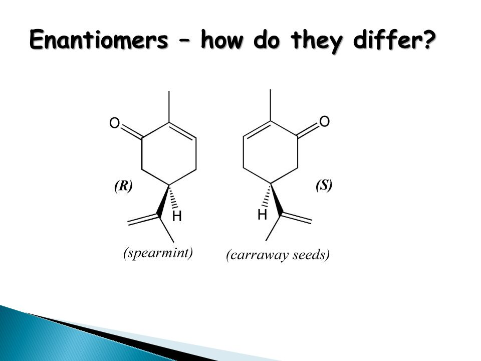 Enantiomers – how do they differ