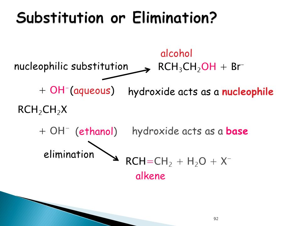 Substitution or Elimination