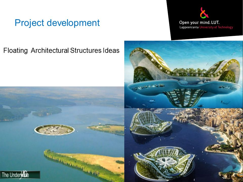 Project development Floating Architectural Structures Ideas Footer