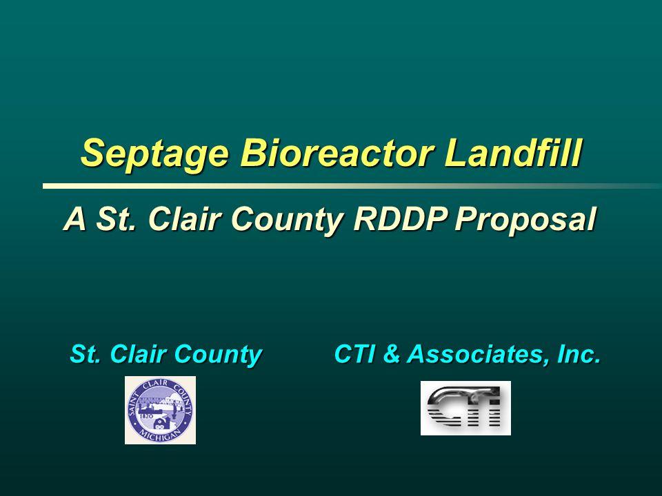Septage Bioreactor Landfill
