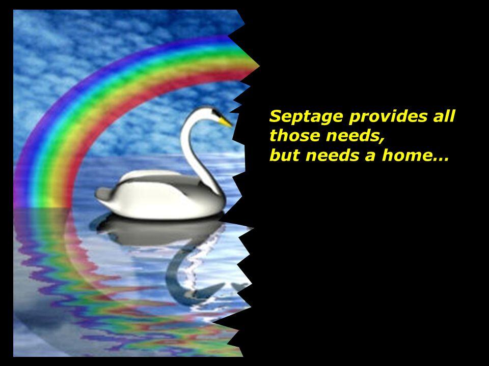 Septage provides all those needs,