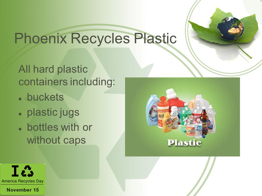 Phoenix Recycles Plastic