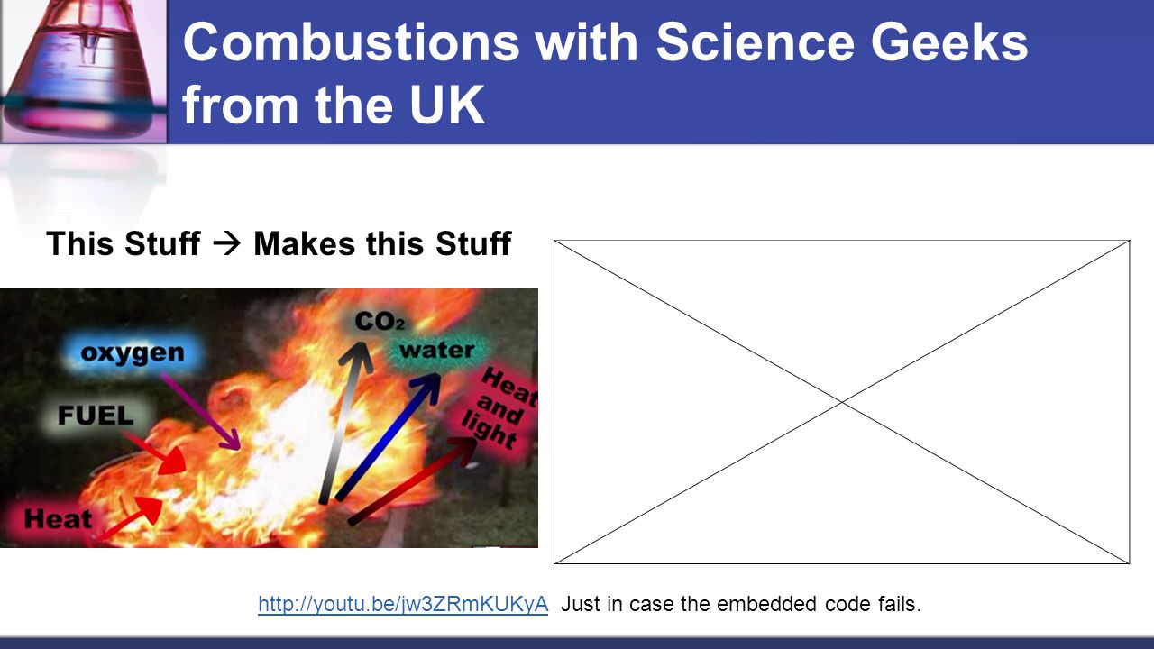 Combustions with Science Geeks from the UK