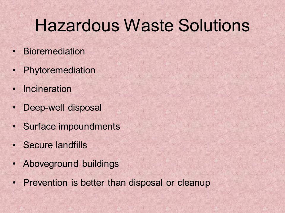 Hazardous Waste Solutions