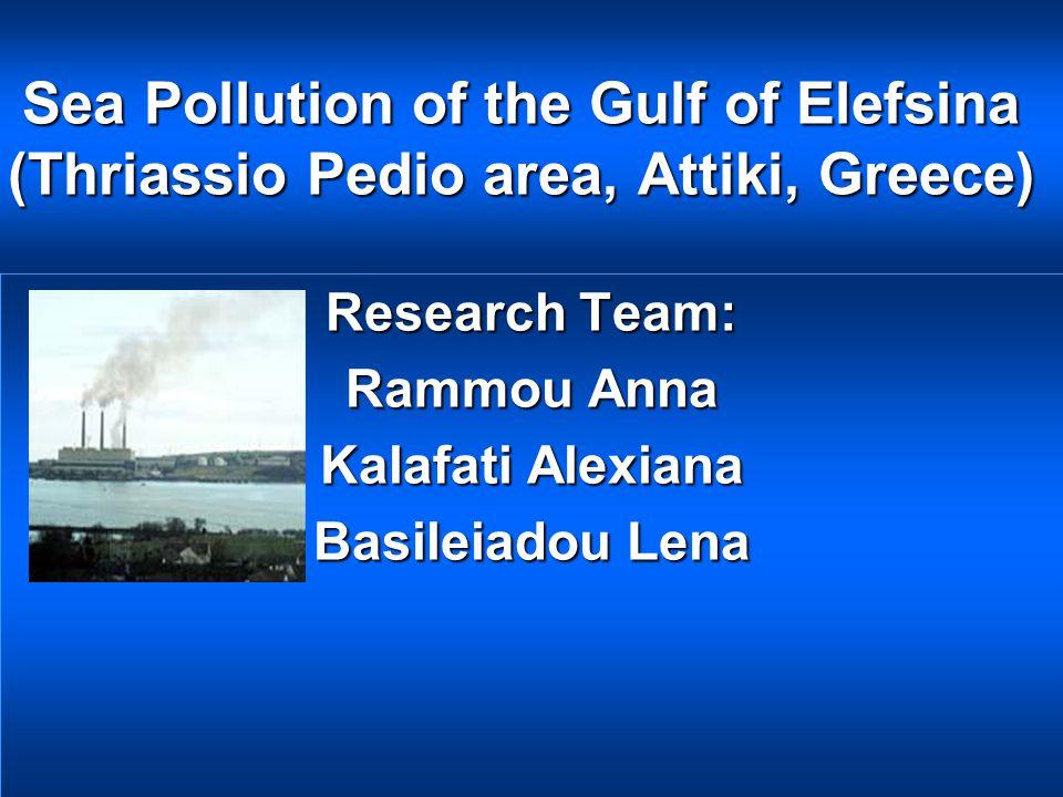 Research Team: Rammou Anna Kalafati Alexiana Basileiadou Lena