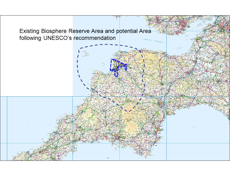 Existing Biosphere Reserve Area and potential Area