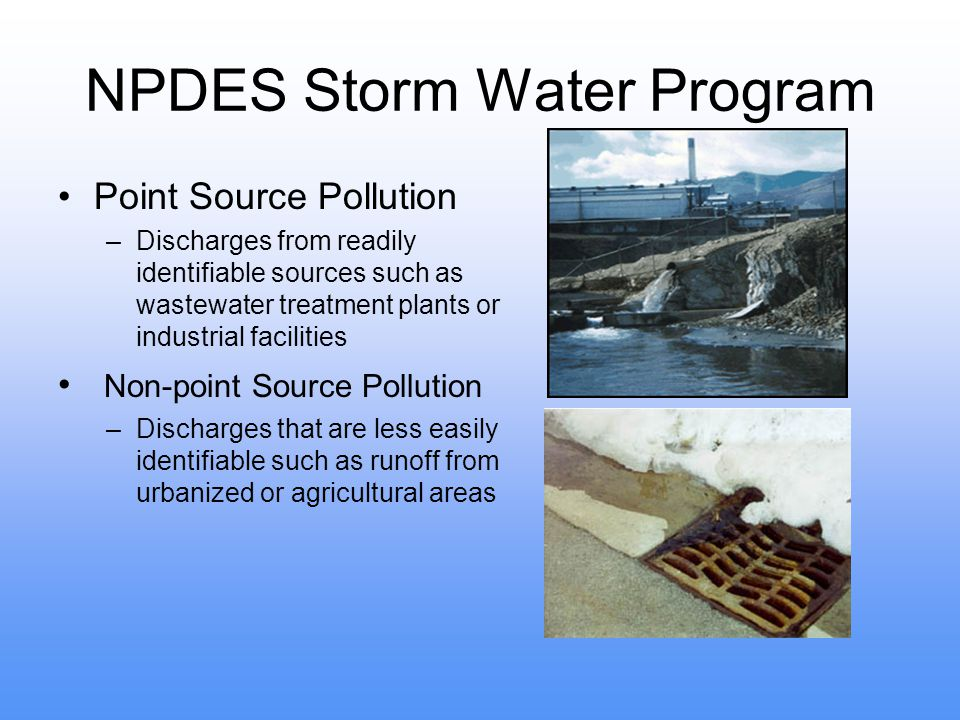 NPDES Storm Water Program