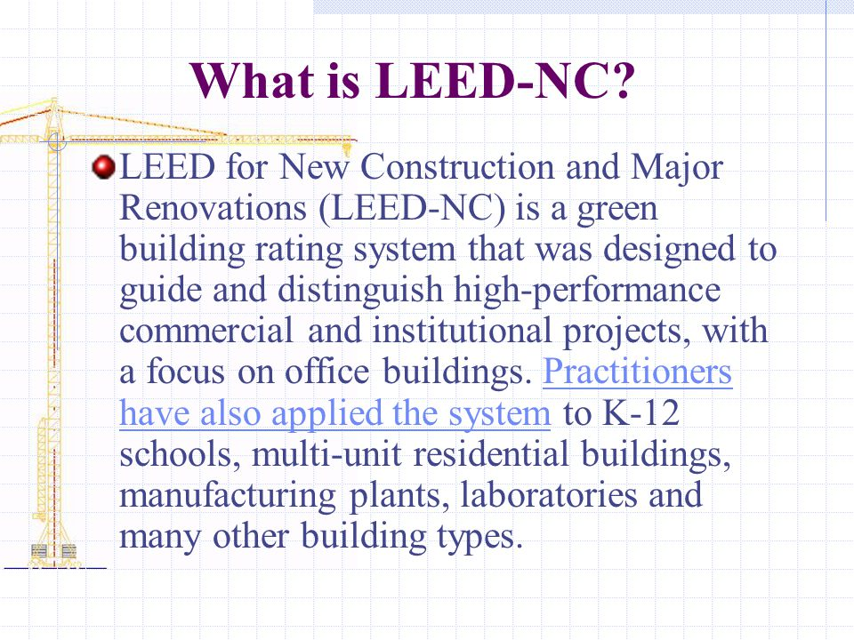 Sustainable design ppt video online download for Leed for homes rating system
