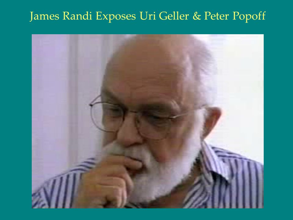 James Randi Exposes Uri Geller & Peter Popoff