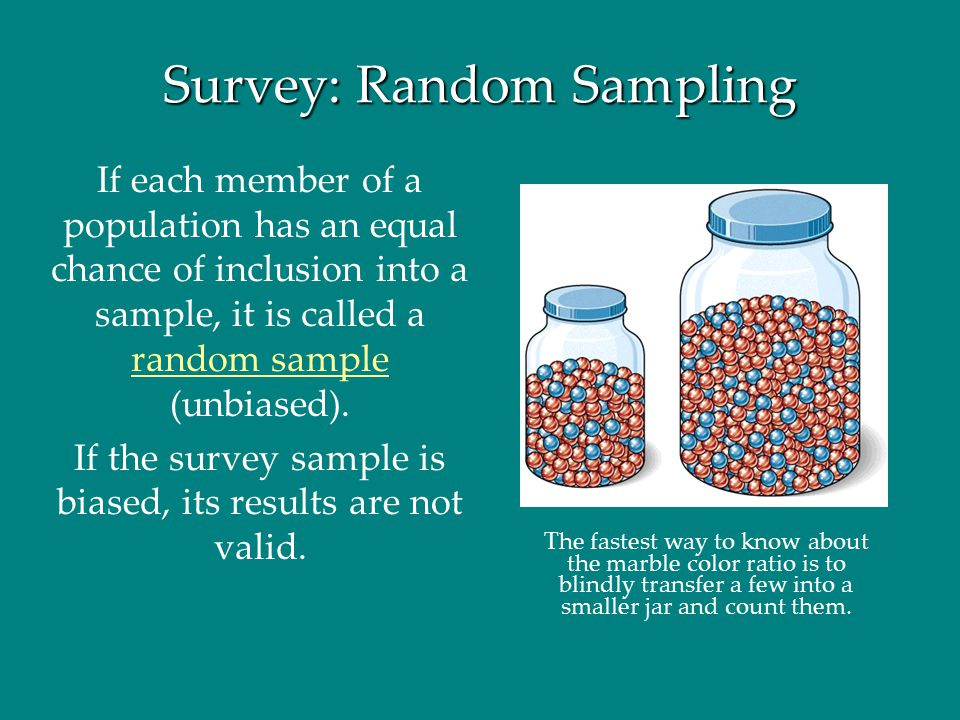 Survey: Random Sampling