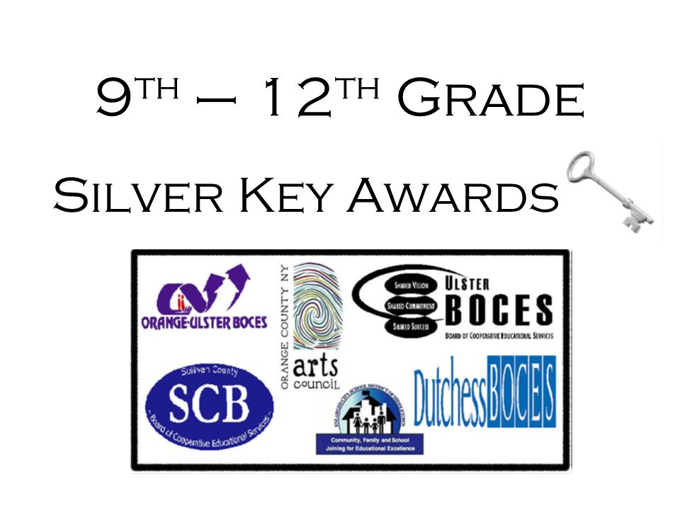 9th – 12th Grade Silver Key Awards
