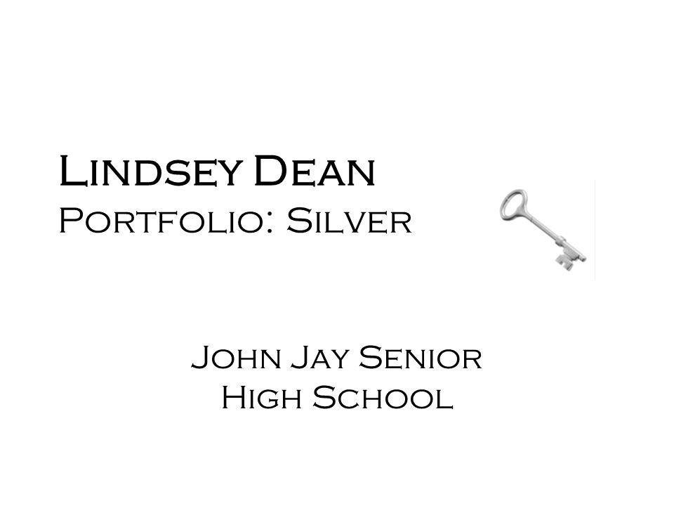 Lindsey Dean Portfolio: Silver