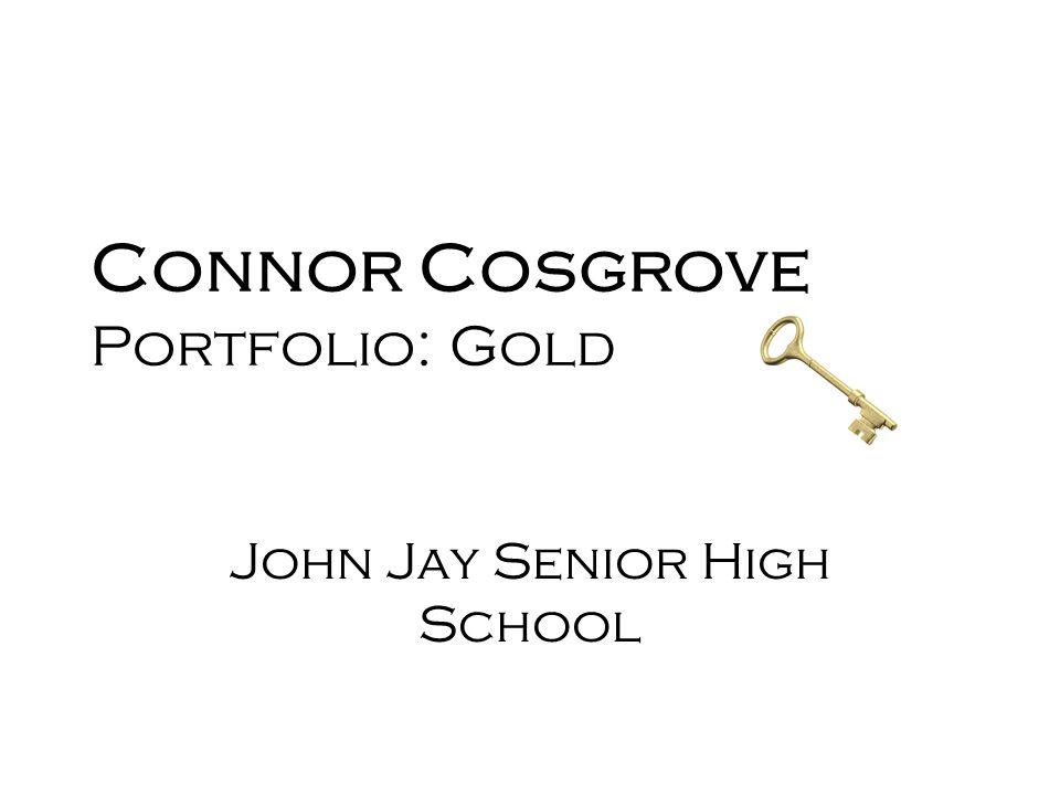 Connor Cosgrove Portfolio: Gold