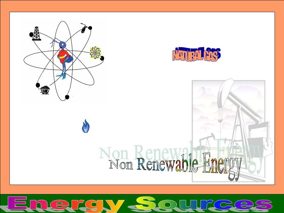 NATURAL GAS Non Renewable Energy Energy Sources