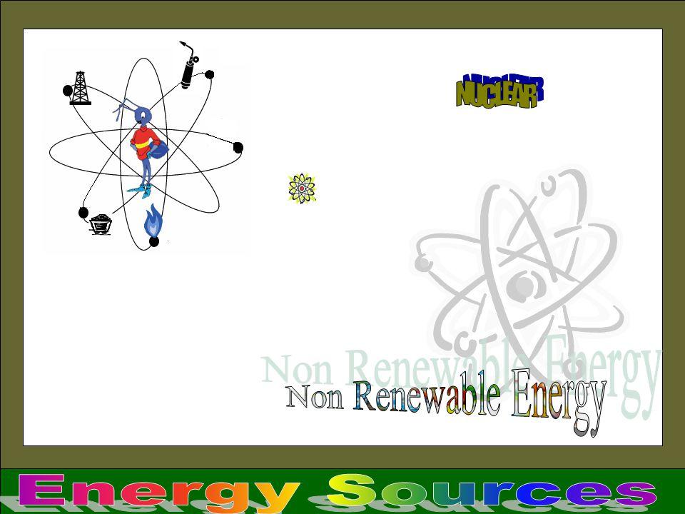 NUCLEAR Non Renewable Energy Energy Sources