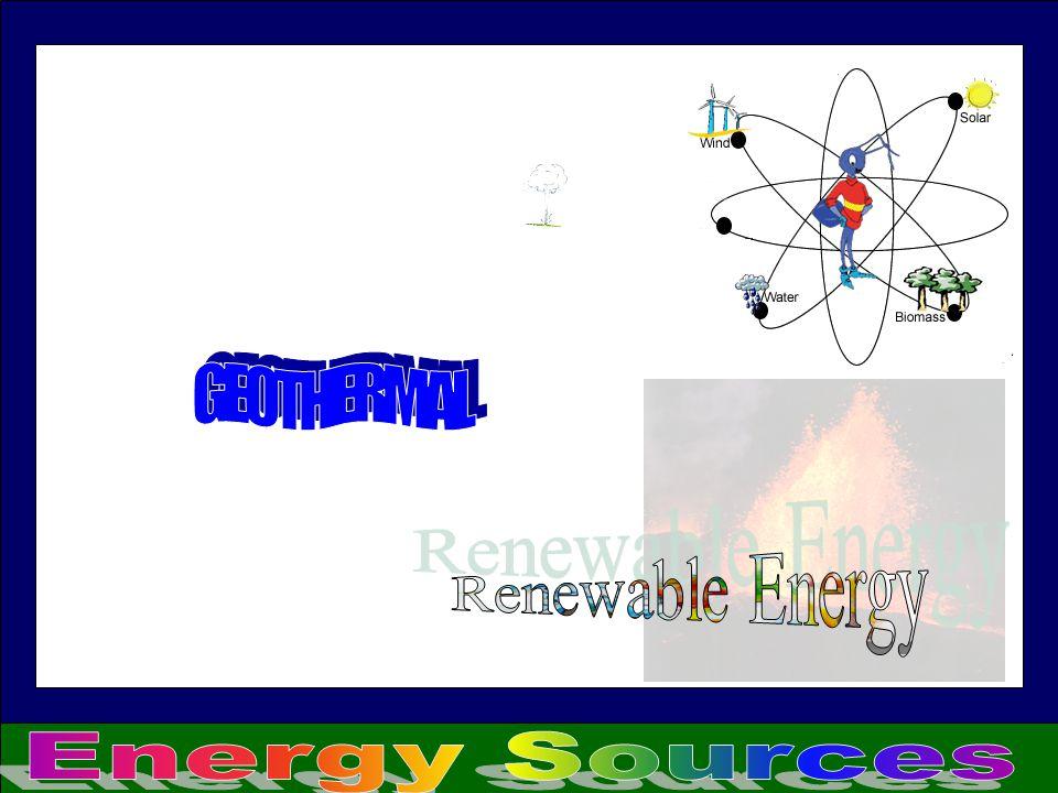 GEOTHERMAL Renewable Energy Energy Sources