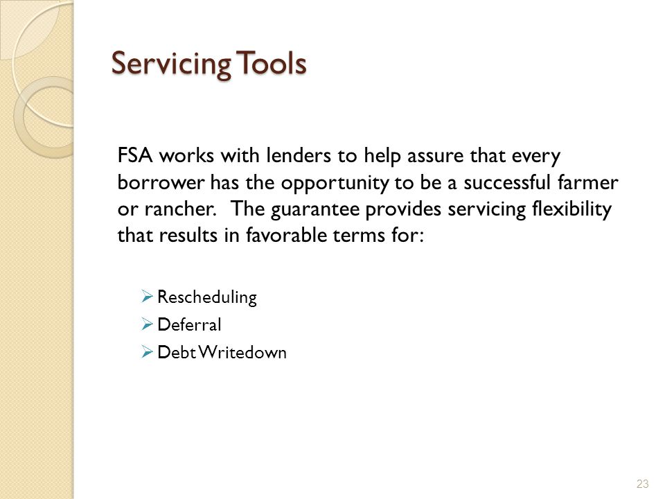 Servicing Tools