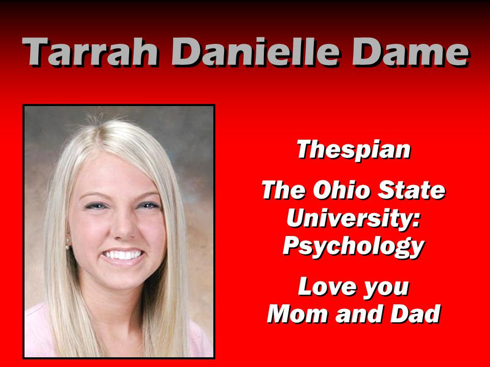The Ohio State University: Psychology