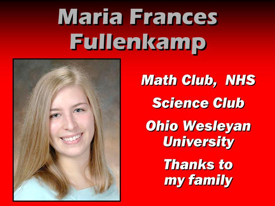 Maria Frances Fullenkamp