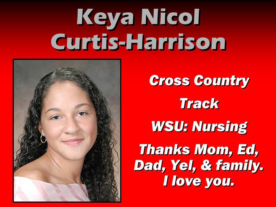 Keya Nicol Curtis-Harrison
