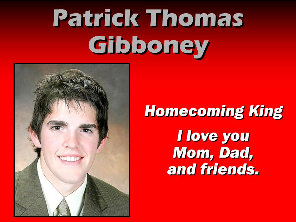 Patrick Thomas Gibboney